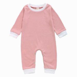 ROSE | Baby toddler ribbed romper